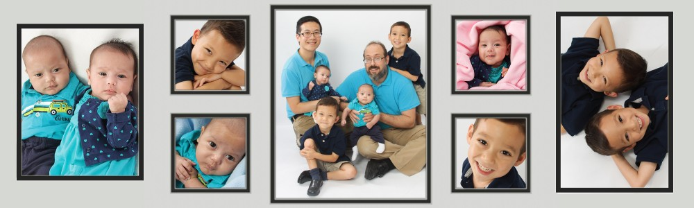 Our life as gay parents of twins…twice!