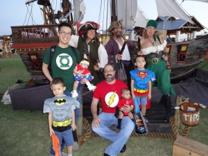 Take your pick - heroes or pirates?