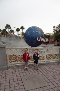 New Year's Day at Universal Studios